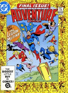 "The last issue of ""Adventure Comics"" in any form. DC has published ""Adventures in the DC Universe"" with a logo similar to the classic one set in the animated series universe. If revived, likely to restart at 1 in ""The New 52."""