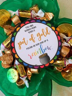 RuthAnne Strong: Worth more than a pot of Gold March Visiting Teaching Handout Ideas Teacher Appreciation Gifts, Teacher Gifts, Employee Appreciation, Visiting Teaching Handouts, St Patricks Day, Saint Patricks, St Pattys, Pot Of Gold, Rainbow Birthday