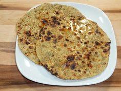 Besan Ki Roti (flat bread) - Manjula's Kitchen - Indian Vegetarian Recipes