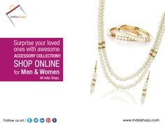 #Surprise your #loved ones with #awesome accessory  #collection!! Shop online at #IndiaShopz for Men & Women.