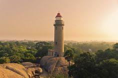 Faro de Mahabalipuram. Soñando con otros lugares: los 101 monumentos más famosos del mundo #viajes #travel