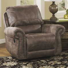 Signature Design by Ashley Evansville Swivel Glider Recliner