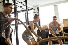 """CrossFit touts itself as the """"sport of fitness,"""" but what does that even mean? Find out all you need to know about CrossFit and CrossFit workouts. One Pound Of Fat, Burn 500 Calories, Rope Exercises, Endurance Workout, Gym Trainer, Training Motivation, Sports Training, Health Magazine, Transformation Body"""