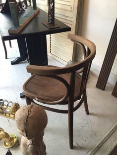 Vintage Pair Thonet Bentwood Chairs By Coloniaantiques On Etsy  Https://www.etsy Design Ideas