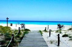 MITJORN BEACH, FORMENTERA, SPAIN...