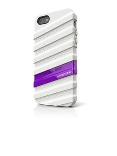 Musubo - HyperGrip Case for Apple iPhone 5/5S Cell Phones - White/Purple