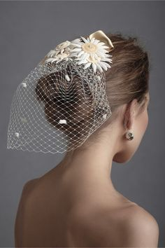 Shine Trim: Wedding DIY Inspiration: BHLDN Veils