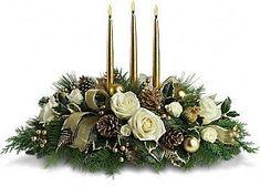 Christmas CenterPiece - Candles Photo (18315068) - Fanpop