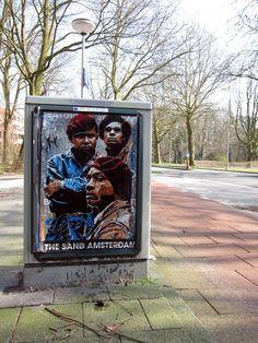 Por las calles de Ámsterdam - Arte de la calle de Andrea Michaelsson |  Arte y Diseño