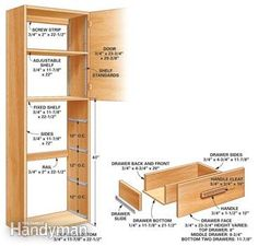 Pantry Cabinet: Inch Pantry Cabinet with My Kitchen Cabinets are ...