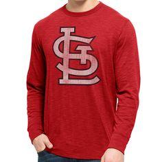 St. Louis Cardinals Long Sleeve Scrum T-Shirt - MLB.com Shop