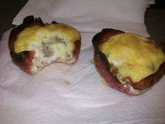"""Egg Sausage Muffins Low Carb   Low Carb breakfast """"muffins"""" turkey, eggs, sausage crumbles and cheese ..."""