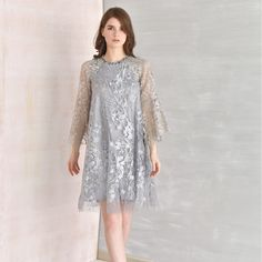Image may contain: 1 person, standing Dress Brokat Modern, Kebaya Modern Dress, Kebaya Dress, Dress Pesta, Model Dress Batik, Batik Dress, Dress Brukat, Lace Dress, Dress Outfits