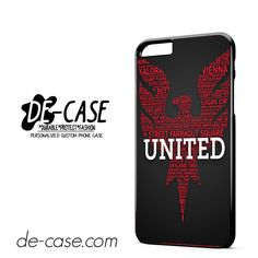 DC United Logo DEAL-3082 Apple Phonecase Cover For Iphone 6/ 6S Plus