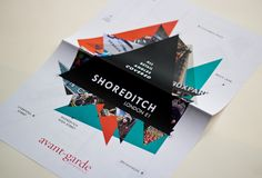 Shoreditch Brochure by redcow , via Behance