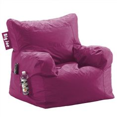 Found it at Wayfair - Big Joe Bean Bag Lounger in Pink Passionhttp://www.wayfair.com/daily-sales/p/Off-Campus-Furniture-Big-Joe-Bean-Bag-Lounger-in-Pink-Passion~FR1431~E12276.html?refid=SBP.rBAZEVP_Vq1tuGVmYXkDApHTic1TrEZTrBUYpU8L4nk