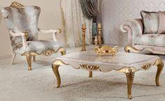 Classic Sofa Sets - Luxury Seat Models - Turkish Sofa Sets Furniture Showroom, Sofa Furniture, Furniture Sets, Turkish Furniture, Country Sofas, Sofa Set Designs, Ottoman Sofa, Classic Sofa, Furniture Styles