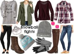 Inspired By: Winter Activities {Snowball Fights}