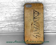 iPhone 5s/5c Case,Always Deathly Hallows Harry Potter Case,Samsung Galaxy S2/S3/S4 Case,personalized Case,iPhone 4/4S/5 Case,iPod Touch 4/5 on Etsy, $9.99
