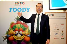 Ciao #Foody @Expo 2015 Milano | via #ItaliaFruit E' FOODY IL NOME DELLA MASCOTTE UFFICIALE DI EXPO MILANO 2015 www.italiafruit.net
