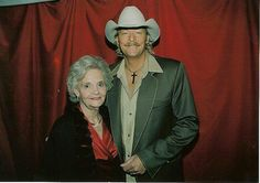Alan Jackson & his Mother, on Mothers Day!!!