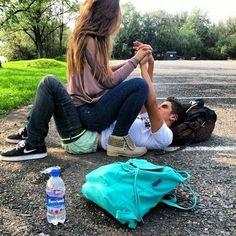 playing around with your boyfriend<3