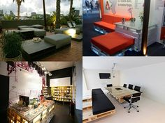Diseñandoando: Muebles reciclados hechos con tarimas de madera