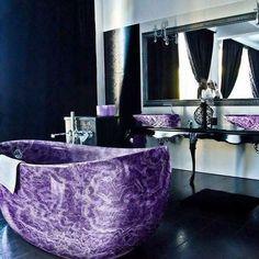 Amethyst bath tub anyone