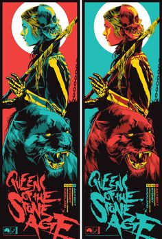 Queens of the stone age – 2 poster set – matching numbers – 2017 – ken taylor Queens of the Stone Age gig posters Omg Posters, Band Posters, Movie Posters, Retro Posters, Art Hippie, Ken Taylor, Musik Illustration, Kunst Poster, Music Artwork