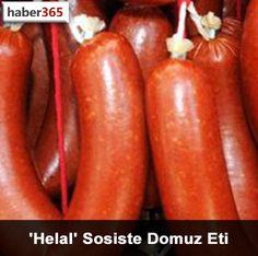 'Helal' Sosiste Domuz Eti