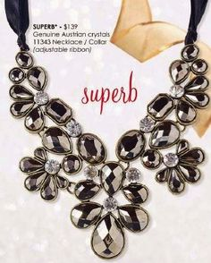 Park Lane's SUPERB Necklace, (retail139.00). Contact me to find out about the Park Lane Sale.