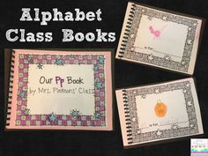 Help students learn their letters!  Are you looking for another way to help students learn the letters of the alphabet and practice writing at the same time? These Alphabet Class Books are a great whole class activity for all levels. Students practice writing letters, and sounding out simple words that begin with that letter to create a class book that can be used as a resource for students all year! Class Activities, Kindergarten Activities, Preschool, Kindergarten Writing, Literacy, Class Books, Letter Find, Writing Letters, Simple Words