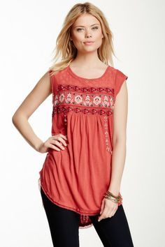 Reckless Abandon Embroidered Tunic by Free People on @HauteLook