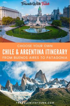 Need help planning your Argentina itinerary to get from Buenos Aires to Patagonia? There are a few ways you can go, and we have all of the details in this comprehensive Argentina and Chile travel guide so you can choose the most appealing route. Whether you go by bus or train to Patagonia, there is so much to see. Check out all 21 photos and get inspired. #argentina #chile #southamerica #travel #travelguide