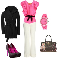pretty in pink, created by shauna-rogers.polyvore.com