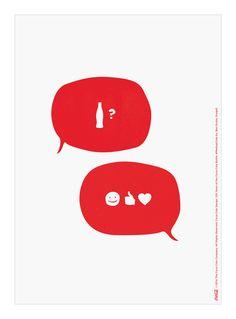 Kiss The Past Hello. Coca-Cola Design: 100 Years of the Coca-Cola Bottle. #MashupCoke by: Ben Grube, Droga5