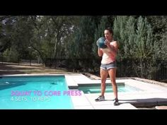 Core Blasting Home Workout - Have 10 minutes? Then you have time to blast that core with this fun and challenging workout. Wednesday Workout, Medicine Ball, Circuit Training, Gym Membership, Total Body, Kettlebell, Have Time, At Home Workouts, Exercises