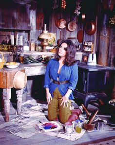 Elizabeth Taylor in The Sandpiper. (Dir. Vincente Minnelli, 1965)