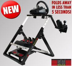 Racing Simulator Steering Wheel Stand Car Driving for Logitech G25 or G27 PS3 PC