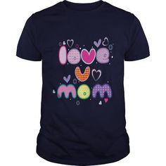 This mom mama mommy mum mummy mother shirt will be a great gift for you or your friend: Happy Mothers Day Gift  Love U MOM Tee Tee Shirts T-Shirts