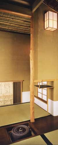Japanese tea room - obtain the relaxing space with clean,  simple and calm