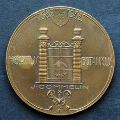 "The Netherlands - Commemorative medal 1932 ""250 Years of the Botanical Garden of Amsterdam"" - Bronze - Catawiki"