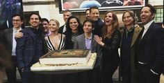 Once Cast on Once Upon a Time 100th episode red carpet - 20 February 2016