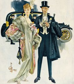 mattadoresit:    J.C. Leyendecker - To The Opera    (via the-art-of-romance)