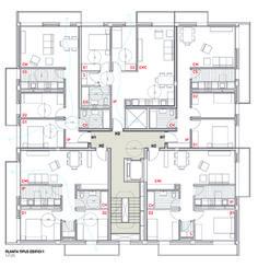 Mirag viviendas sentmenat 11  ~ Great pin! For Oahu architectural design visit http://ownerbuiltdesign.com