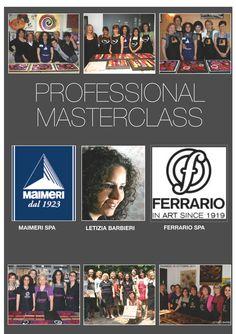 Professional Masterclass,Letizia Barbieri in collaboration con Maimeri Company and Ferrario Company, leaders in products of fine art and craft.