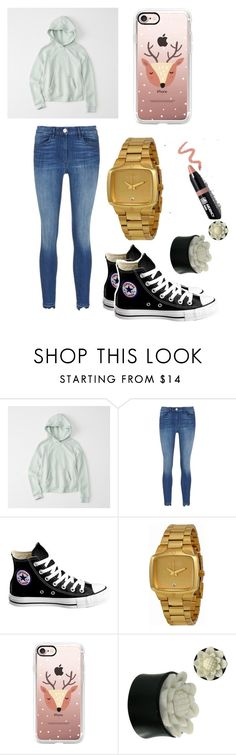 """""""Untitled #27"""" by brokenangel-eva on Polyvore featuring Abercrombie & Fitch, Converse, Nixon, Casetify and Ardency Inn"""
