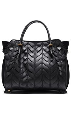 Quilted Calfskin Marche Small Bag by Nina Ricci for Preorder on Moda Operandi