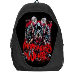 motionless in white backpack