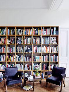 Living de Leitura  Fonte: Architectural Digest